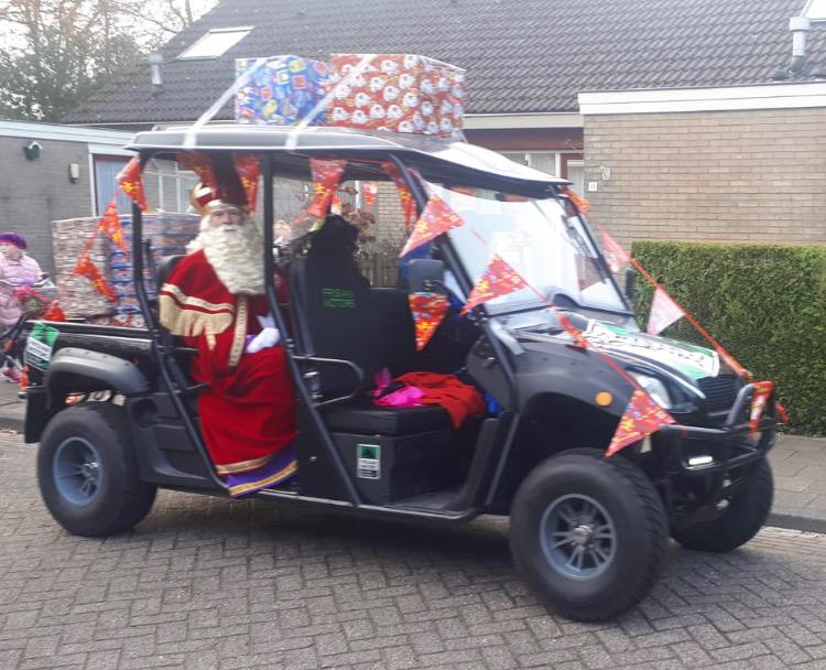Rentric bij Sinterklaas intocht