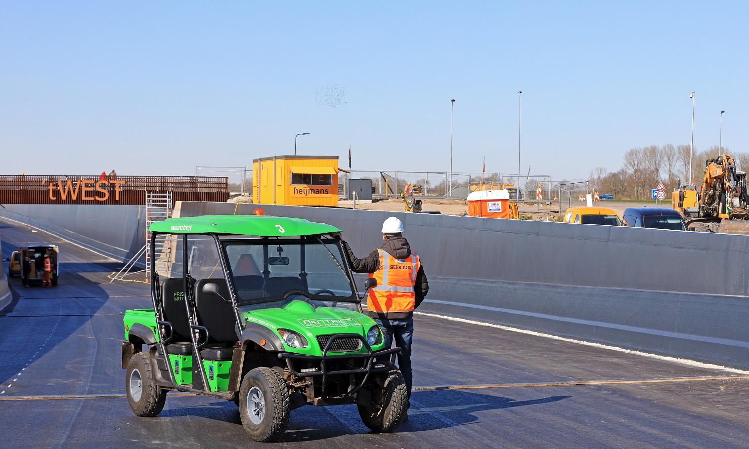 Rentric elektrische transportvoertuig
